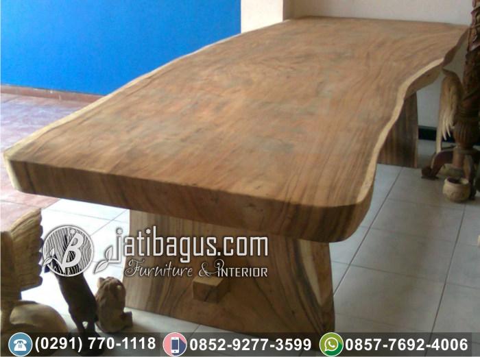 Meja Blok Solid Wood Kayu Trembesi Suar