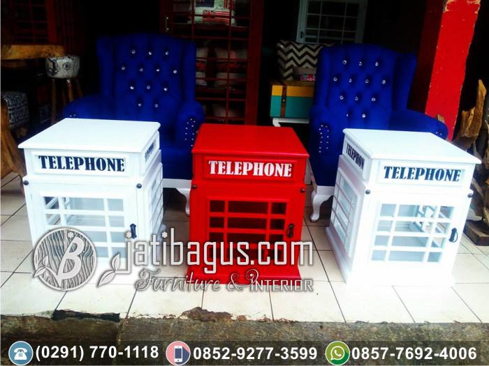Meja Hias Box Telefon Inggris