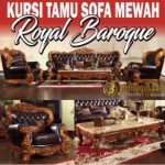 Kursi Tamu Sofa Mewah Ukir Royal Baroque