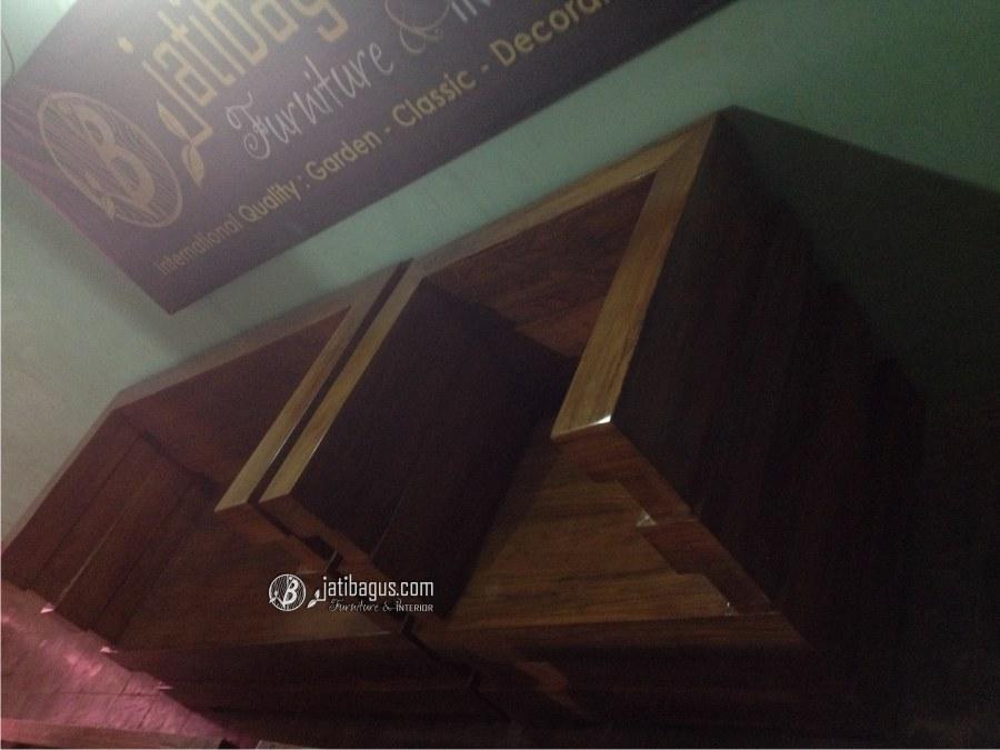 Set Kursi Tamu Minimalis Modern Box Jati Terbaru