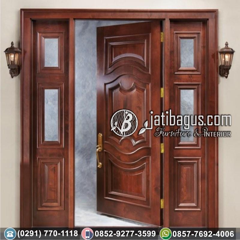 jual pintu ukir jati