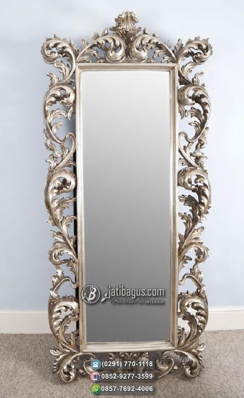 Jual Standing Mirror Ukir