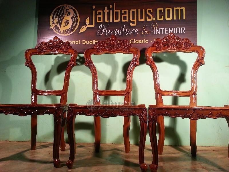 Kursi makan ukir jepara