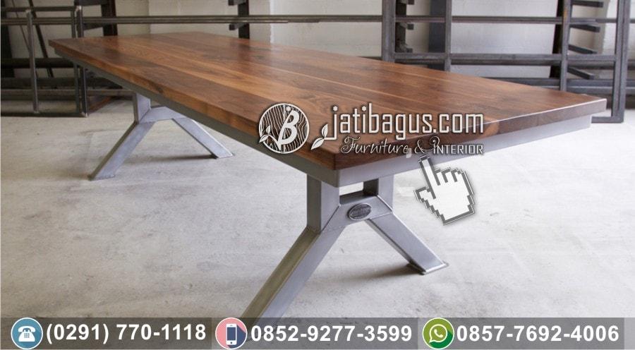 Model Meja Makan Panjang untuk lesehan