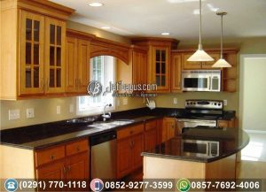 Kitchen Set Minimalis Jati