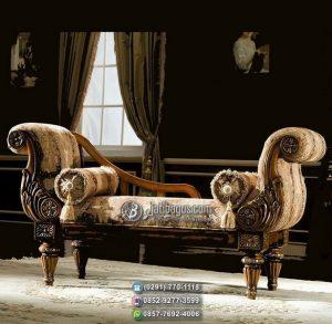 Kursi Sofa Ukir Tunggal Sandaran Kanan Kiri