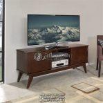 Meja Tv Kayu Jati Desain Simpel