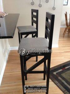 Kursi Bar Kafe Tinggi Minimalis Ruang Tunggu