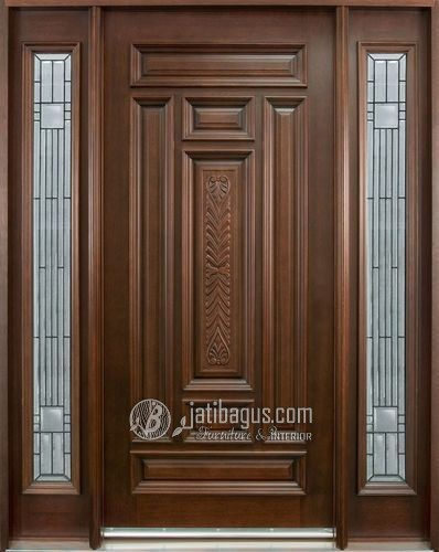 Jual pintu mininimalis kayu jati asli Murah
