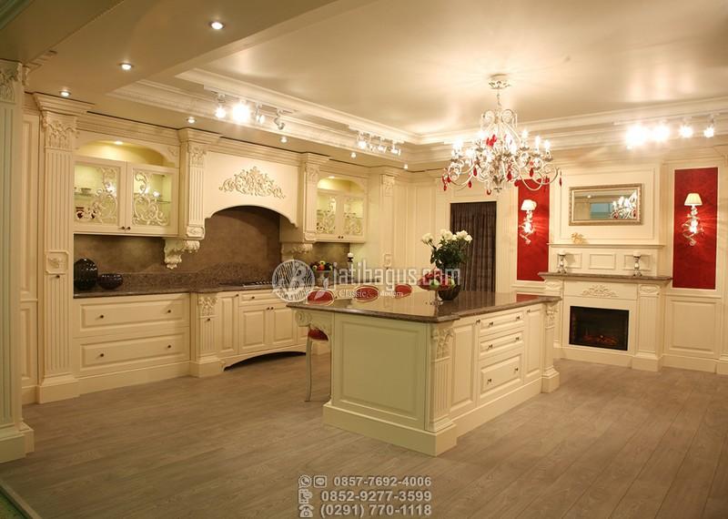 Jual Kitchen Set Ukir Murah