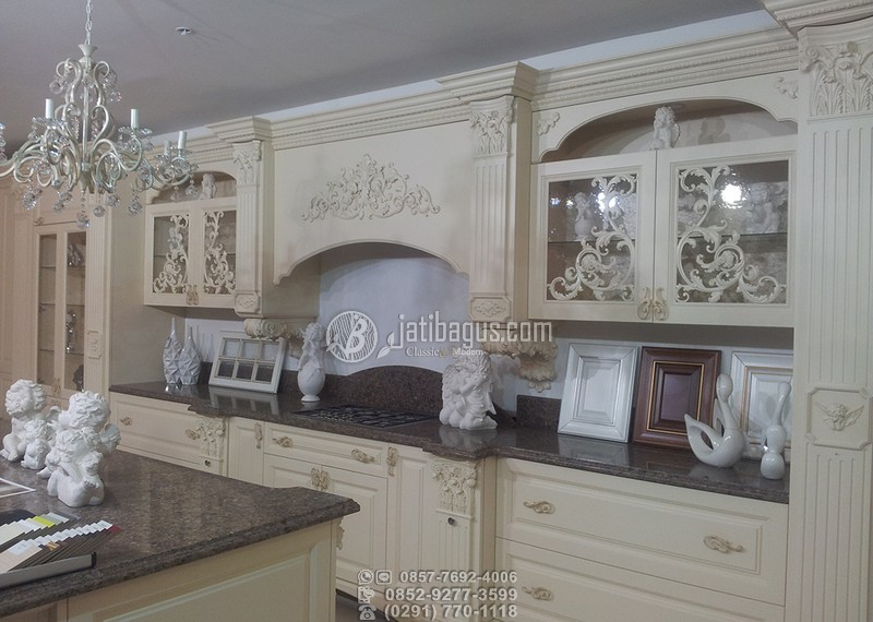 Jual Kitchen Set Ukir Murah