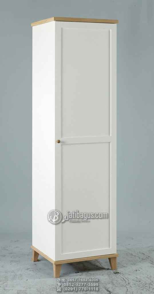 Jual Lemari Pakaian Minimalis 1 Pintu Murah