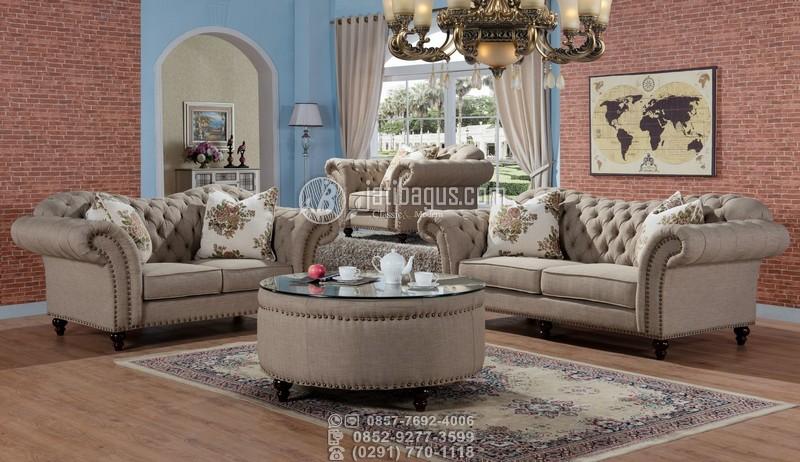 Set Kursi Tamu Sofa Ukir