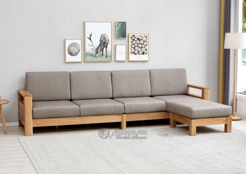 kursi ruang keluarga sudut L