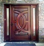 Pintu Minimalis Kayu Solid Jati