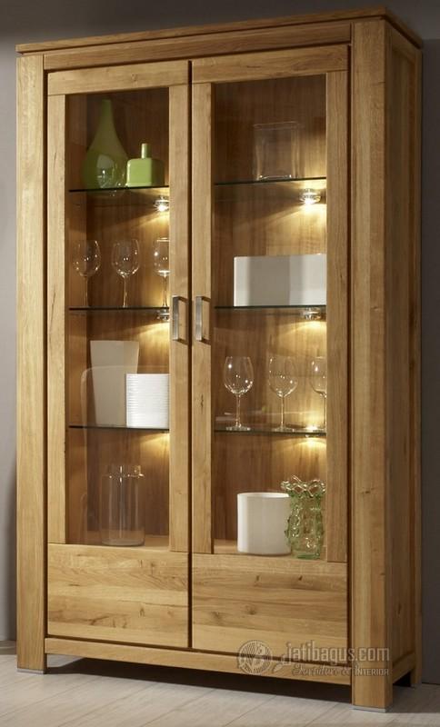 Lemari Dapur Minimalis 2 pintu kaca