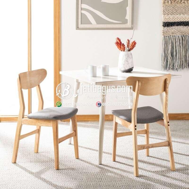 Kursi Cafe Resto Kayu Minimalis - Model 27