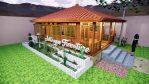 Rumah Kayu Minimalis Kayu Jati Asli