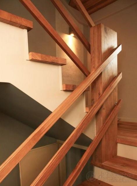 Railing Minimalis Pagar Diagonal