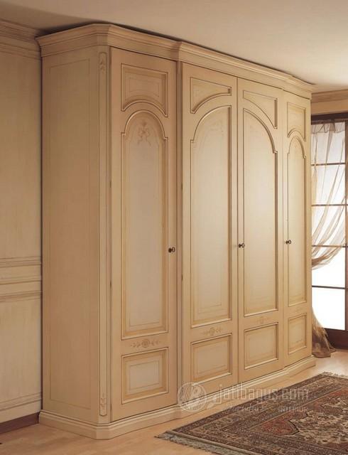 Lemari Pakaian Minimalis 4 Pintu Mewah Kaisar