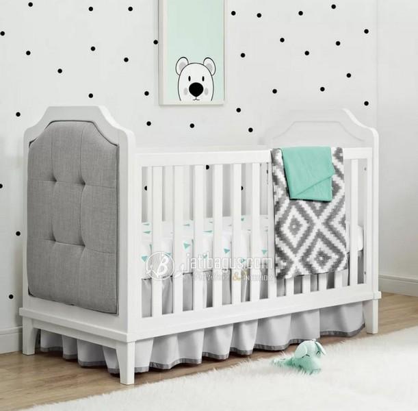 Ukuran Tempat Tidur Bayi Minimalis Jok Busa Depan Belakang