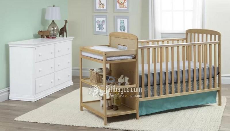 Ukuran Tempat Tidur Bayi 3 Rak Tingkat