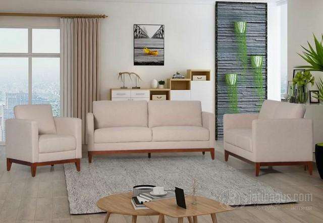 Set Kursi Tamu Minimalis Sofa Square Jok