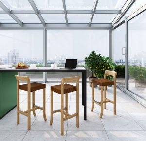 Kursi Cafe Minimalis Terbaru Jok Busa Simple Basic