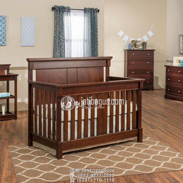 Tempat Tidur Bayi Kotak Klasik Harga Terjangkau