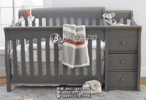 Box Tempat Tidur Bayi Minimalis Modern Simpel Mewah