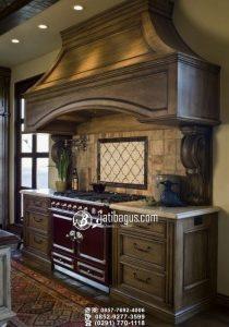 Kitchen Set Minimalis Desain Elegan Mewah Klasik Finishing Kehitaman