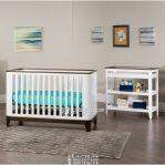 Tempat Tidur Bayi Minimalis Hitam Putih Monokrom Modern