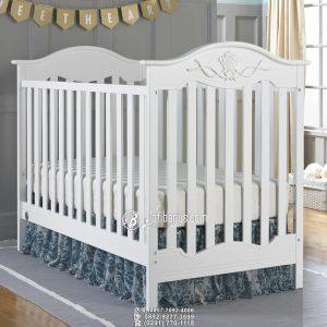 Tempat Tidur Bayi Minimalis Ukiran Variasi Di Atas Gunungan